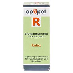 APOPET R Relax Blüteness.n.Dr.Bach Glob.vet. 12 Gramm - Vorderseite