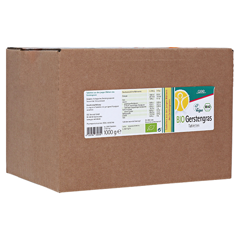 GERSTENGRAS 500 mg Bio Tabletten 2000 St�ck
