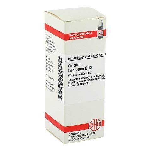 CALCIUM FLUORATUM D 12 Dilution 20 Milliliter N1