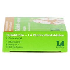 Teufelskralle-1A Pharma 20 Stück N1 - Linke Seite