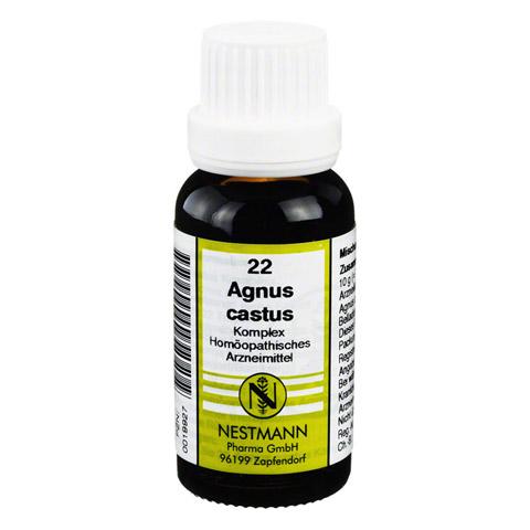 AGNUS CASTUS KOMPLEX Nr.22 Dilution 20 Milliliter