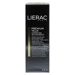 LIERAC Premium Augenpflege Creme 10 Milliliter - Vorderseite