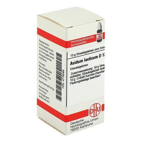 ACIDUM LACTICUM D 12 Globuli 10 Gramm N1