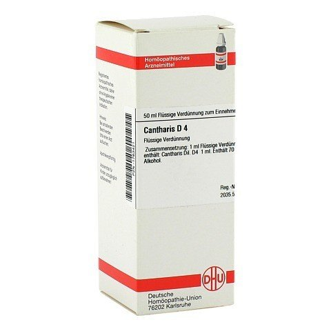 CANTHARIS D 4 Dilution 50 Milliliter N1