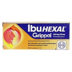 IBUHEXAL Grippal 200 mg/30 mg Filmtabletten 20 Stück N1 - Vorderseite