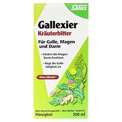 Gallexier Kräuterbitter Salus 500 Milliliter - Vorderseite