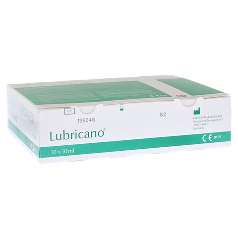 LUBRICANO steriles Gel 10x10 Milliliter