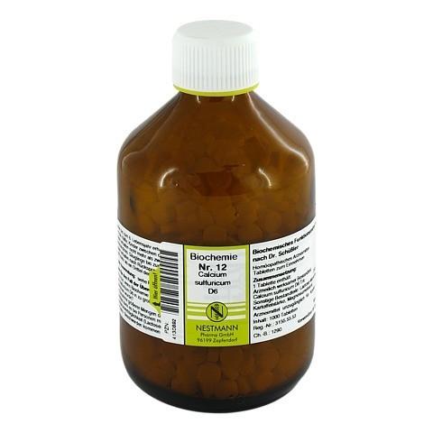 BIOCHEMIE 12 Calcium sulfuricum D 6 Tabletten 1000 Stück
