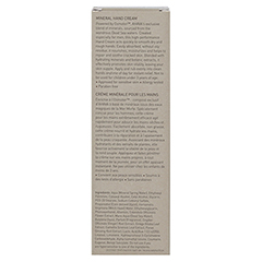 Ahava Men Mineral Hand Cream 100 Milliliter - Rückseite