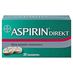 Aspirin Direkt 20 Stück - Vorderseite