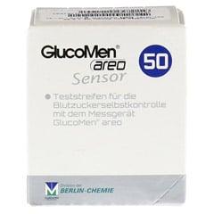 GLUCOMEN areo Sensor Teststreifen 50 St�ck - Vorderseite