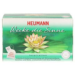 HEUMANN Wecke die Sinne Tee Filterbeutel 20 Stück - Vorderseite