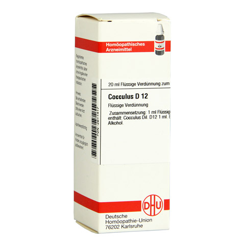 COCCULUS D 12 Dilution 20 Milliliter N1