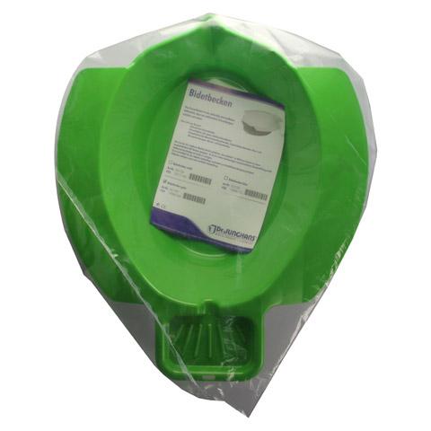BIDET BECKEN Kunststoff grün 1 Stück