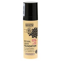 LAVERA Natural Liquid Foundation 03 honey sand 30 Milliliter