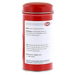 ZIMTPULVER Caelo HV-Packung Blechdose 50 Gramm - R�ckseite