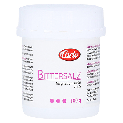 BITTERSALZ Caelo HV-Packung 100 Gramm