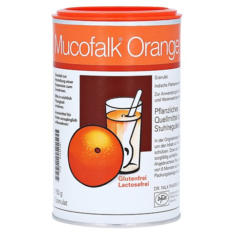 Mucofalk Orange 150 Gramm