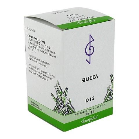 BIOCHEMIE 11 Silicea D 12 Tabletten 500 St�ck N3