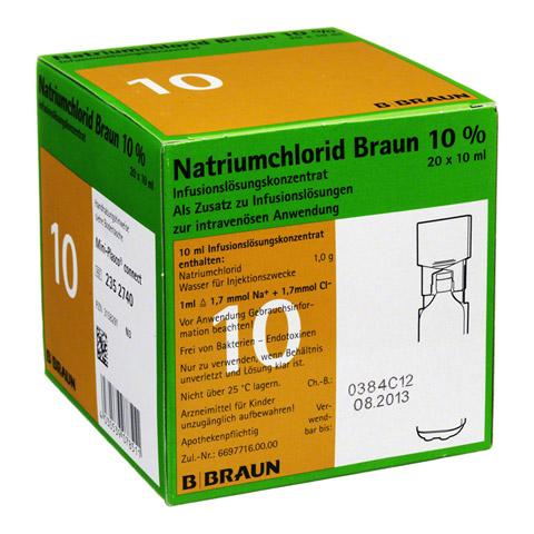 NATRIUMCHLORID 10% Braun MPC Infusionslsg.-Konz. 20x10 Milliliter N3