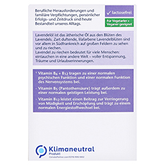 DOPPELHERZ Lavendel Extrakt+Öl Tabletten 30 Stück - Rückseite