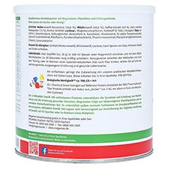 Eiweiss 100 Cappuccino Megamax Pulver 750 Gramm - Rechte Seite