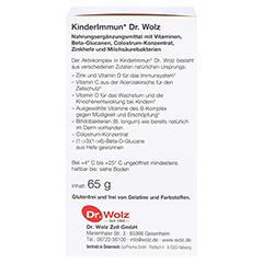 KINDERIMMUN Dr. Wolz Pulver 65 Gramm - Linke Seite