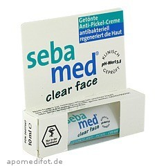 sebamed clear face getoente anti pickel creme medpex versandapotheke. Black Bedroom Furniture Sets. Home Design Ideas