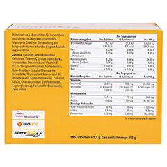 CENTROVISION AMD Premium Tabletten 180 Stück - Rückseite