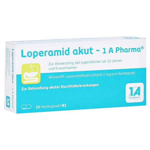 Loperamid akut-1A Pharma 10 St�ck N1