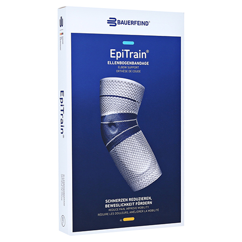 EPITRAIN AKTIV Gelenkbandage Gr.3 titan 1 St�ck