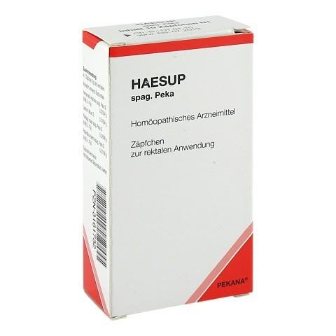 HAESUP spag.Peka Suppositorien 10 St�ck N1