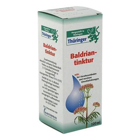 Thüringer Baldrian-Tinktur 100 Milliliter
