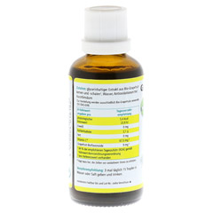 GRAPEFRUIT KERN Extrakt Bio L�sung 50 Milliliter - R�ckseite