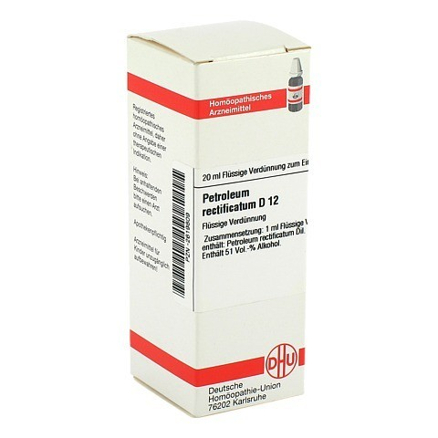 PETROLEUM RECTIFICATUM D 12 Dilution 20 Milliliter N1