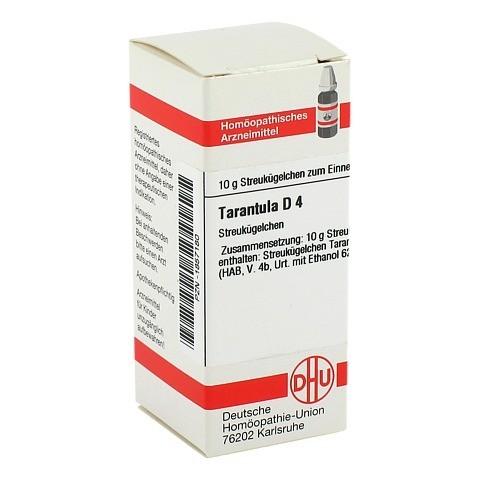 TARANTULA D 4 Globuli 10 Gramm N1