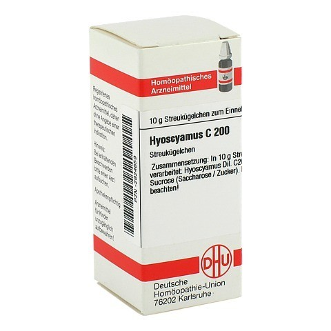HYOSCYAMUS C 200 Globuli 10 Gramm N1
