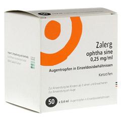 Zalerg ophtha sine 0,25mg/ml Augentropfen 50 St�ck N3