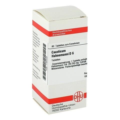 CAUSTICUM HAHNEMANNI D 6 Tabletten 80 Stück N1