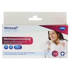 VEROVAL Harnwegsentzündung Selbsttest 2 Stück - Vorderseite