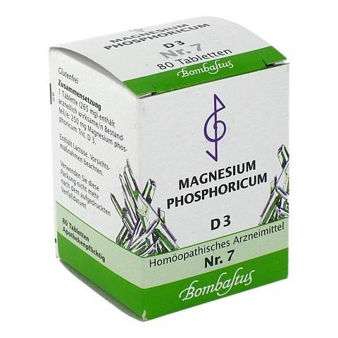 BIOCHEMIE 7 Magnesium phosphoricum D 3 Tabletten 80 Stück N1