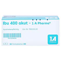 Ibu 400 akut-1A Pharma 50 Stück N3 - Oberseite