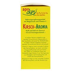 APODAY Kirsch Magnesium+Vitamin C Pulver 10x10 Gramm - Linke Seite