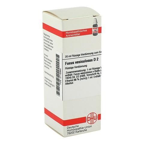 FUCUS VESICULOSUS D 2 Dilution 20 Milliliter N1