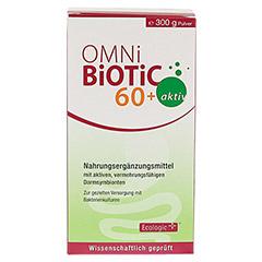 OMNI BiOTiC 60+ aktiv Pulver 300 Gramm - Rückseite