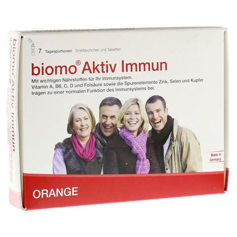 BIOMO Aktiv Immun Trinkfl.+Tab.7-Tages-Kombi 1 Packung