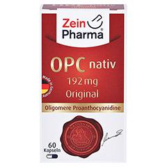 OPC nativ Kapseln 192 mg reines OPC 60 Stück - Vorderseite
