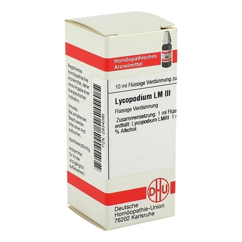 LM LYCOPODIUM III Dilution 10 Milliliter N1