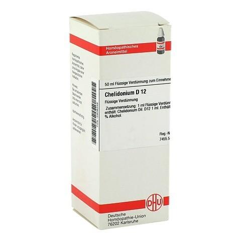CHELIDONIUM D 12 Dilution 50 Milliliter N1