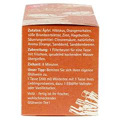 H&S Wintertee Orange-Sanddorn-Zimt Filterbeutel 20 Stück - Linke Seite